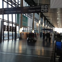 Photo taken at Bradley International Airport (BDL) by Zipporah S. on 11/19/2012