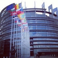 Photo taken at European Parliament by Jérôme T. on 11/25/2012