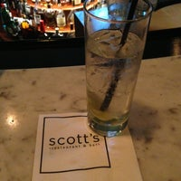 Photo taken at Scott's Restaurant & Bar by Aaron C. on 12/28/2012