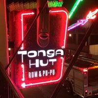 Photo taken at Tonga Hut by Aaron C. on 3/9/2014