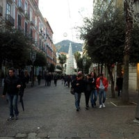 Photo taken at Corso Vittorio Emanuele by Paolo C. on 12/19/2012