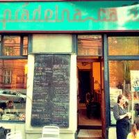 Photo taken at Prádelna Cafe by Medito on 7/16/2014