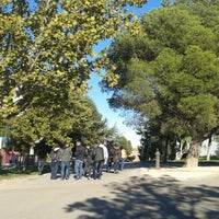 Photo taken at Camping Ciudad de Zaragoza by Paula R. on 11/9/2013