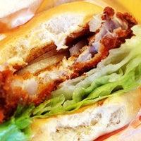 Photo taken at Doni Burger by Ellen H. on 10/14/2013