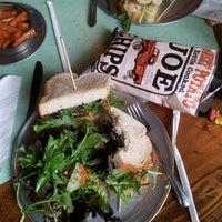 Photo taken at Open Face Sandwich Eatery by Juanita W. on 7/3/2013