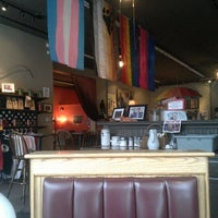 Photo taken at Equal Grounds Coffeeshop & Books by Juanita W. on 2/8/2013