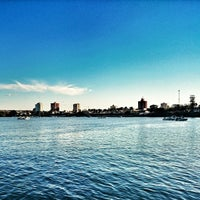 Photo taken at Beira Rio by Beira R. on 8/17/2014