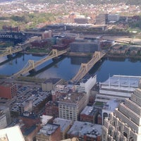 Photo taken at U.S. Steel Tower by Tom L. on 4/26/2013