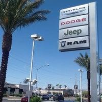 Photo taken at Sahara Las Vegas Chrysler Jeep Dodge Ram by Sahara C. on 6/24/2014