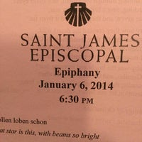 Photo taken at St. James Episcopal Church by Joel C. on 1/6/2014
