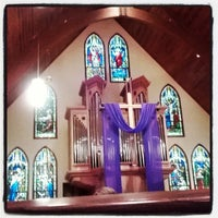 Photo taken at St. James Episcopal Church by Joel C. on 3/30/2014