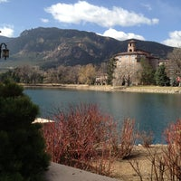 Photo taken at The Broadmoor by Georg L. on 4/12/2013