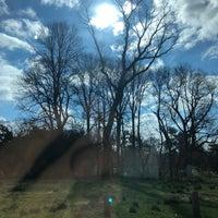 Photo taken at Awbury Arboretum by Adam R. on 4/17/2018