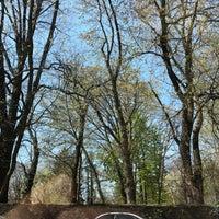 Photo taken at Awbury Arboretum by Adam R. on 4/28/2018
