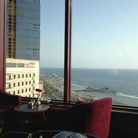 Photo taken at Jeddah Hilton Executive Lounge by Omar A. on 7/4/2013