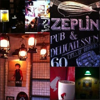 Photo taken at Zeplin Pub & Delicatessen by tolga s. on 3/16/2013