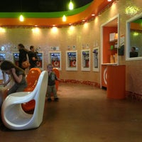 Photo taken at Orange Leaf by Mikey W. on 1/1/2013