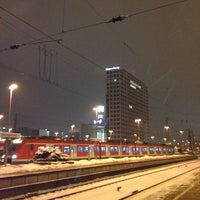 Photo taken at Dortmund Central Station by Axel D. on 1/16/2013