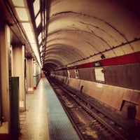 Photo taken at CTA - Jackson (Blue) by Chelsea P. on 1/18/2013