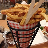 Photo taken at Frietkoten Belgian Fries & Beer by Chelsea P. on 10/5/2013