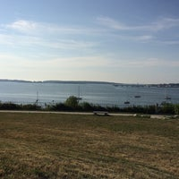 Photo taken at Fort Allen Park by Chelsea P. on 7/22/2016