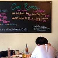 Photo taken at Cafe Roma by Jessica L. on 7/5/2013