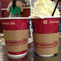 Photo taken at Juan Valdez Café by Rh G. on 10/22/2012