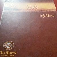 12/15/2012 tarihinde Yinson N.ziyaretçi tarafından OldTown White Coffee'de çekilen fotoğraf