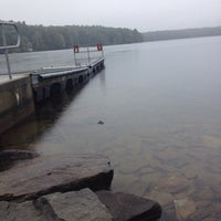 Photo taken at Comet Pond by Dawn Marie B. on 9/21/2014