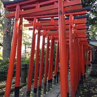 Photo taken at 乙女稲荷神社 by Sadowsky 0. on 12/16/2012