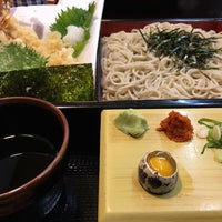 Photo taken at 麺坊 蕎麦博 by Eita on 4/24/2016