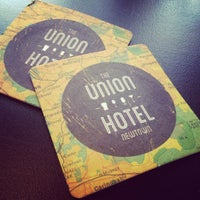 Photo taken at The Union Hotel by Willy C. on 9/13/2013