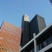 Photo taken at Deutschlandfunk Funkhaus Köln by Christoph W. on 11/9/2013
