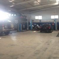 Photo taken at Garage Ennour by Aymen J. on 9/4/2014