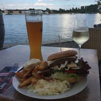 Photo taken at Mainz Strand by Detlef O. on 8/14/2017