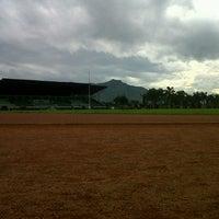 Photo taken at Brigif Running Track by Awzini F. on 2/24/2013