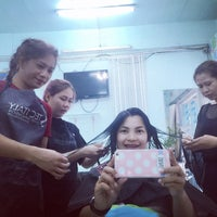 Photo taken at Mana Salon by 💟Captain⚓️Saung💟 on 12/16/2016