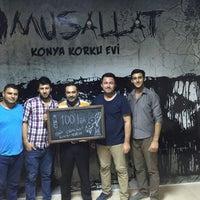 8/16/2016 tarihinde Şahin K.ziyaretçi tarafından Musallat Konya Korku Evi'de çekilen fotoğraf