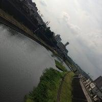 Photo taken at 武庫川 三田 車瀬橋周辺 by YAS T. on 6/23/2013