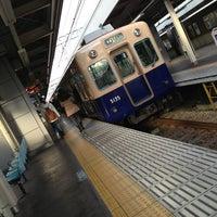 Photo taken at Hanshin Amagasaki Station (HS09) by YAS T. on 12/18/2012
