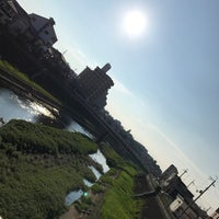 Photo taken at 相生橋 by YAS T. on 8/17/2017