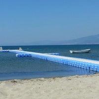 Photo taken at Denetko Plajı by Banu K. on 8/28/2014