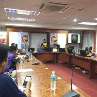 Photo taken at Majlis Sukan Negeri by Muallim Arabii on 10/17/2015