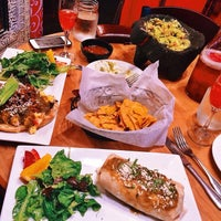 Photo taken at Zocalo Back Bay Mexican Bistro & Tequila Bar by Minnie K. on 10/8/2014