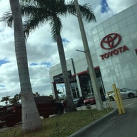 Photo taken at Toyota of South Florida by Martin R. on 3/8/2016