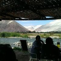 Photo taken at La Laguna Azul by Juan M. on 8/13/2014