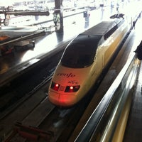 Photo taken at Madrid-Puerta de Atocha Railway Station by Fer on 4/26/2013