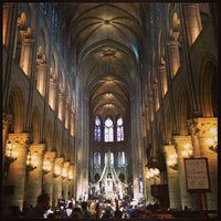 Photo taken at Cathedral of Notre Dame de Paris by Bart13 on 6/13/2013