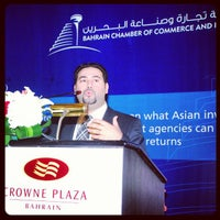 Photo taken at Crowne Plaza Bahrain by Ali S. on 1/3/2013