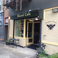 Photo taken at BeeHive Oven Biscuit Café by BeeHive Oven Biscuit Café on 6/21/2014